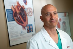 Dr. Peter Walinsky said he gets people on and off the heart-lung machine quickly during heart surgery, which is important for a number of reasons.