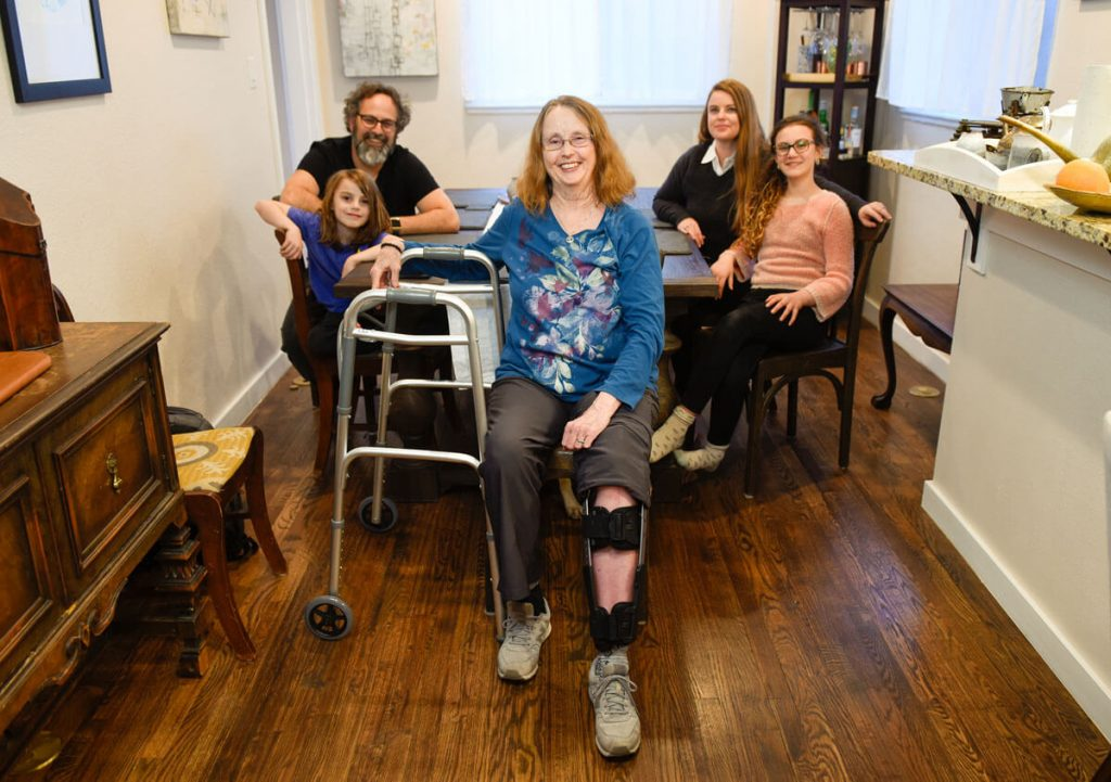 Fran Berger needed inpatient rehabilitation services in Broomfield after a bad fall. She then got to recover at her daughter's home in Denver.