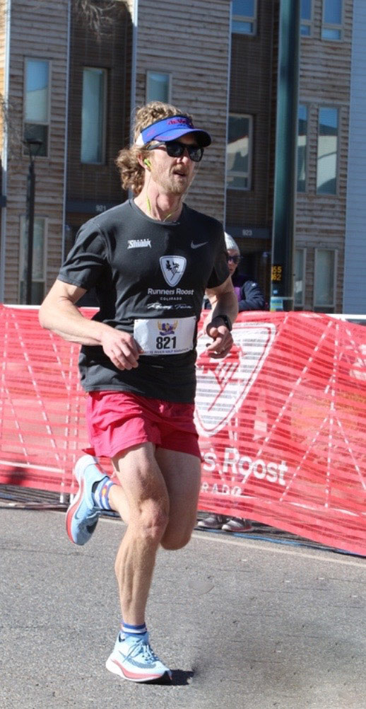 to cope with coronavirus anxiety, Justin Ross goes running