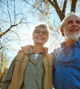 two older adults, who now the CDC says are more vulnerable to the coronavirus.