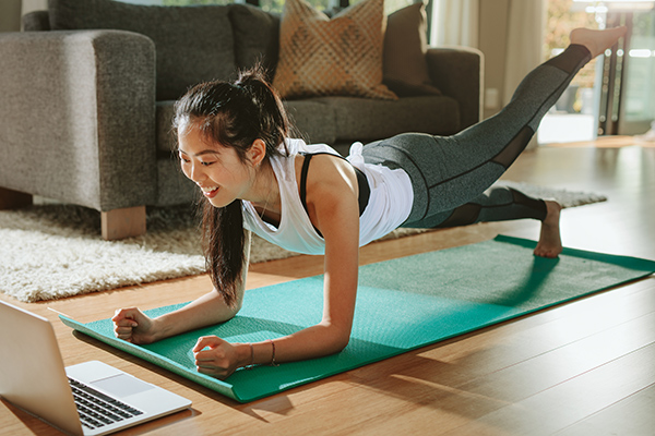 at-home exercises can help you stay healthy during the pandemic