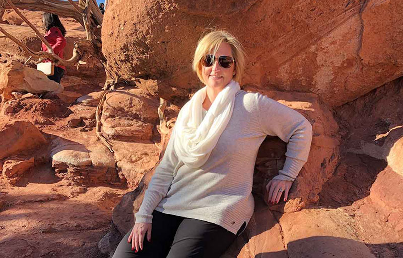 Lori Hopper is anxious to have surgery for lower back pain now that medically necessary surgeries have resumed.