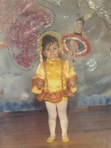 Dr. Michelle Barron, the top infectious disease expert in Colorado as a little girl when she loved ballet.
