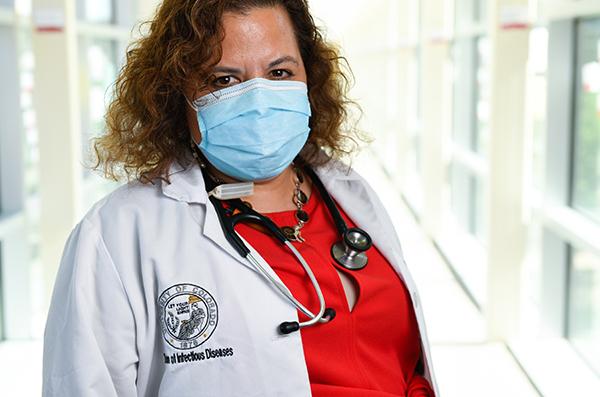 Dr. Michelle Barron, the top infectious disease expert in Colorado.