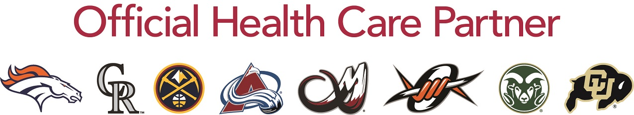 UCHealth is the official health care partner to the pros.