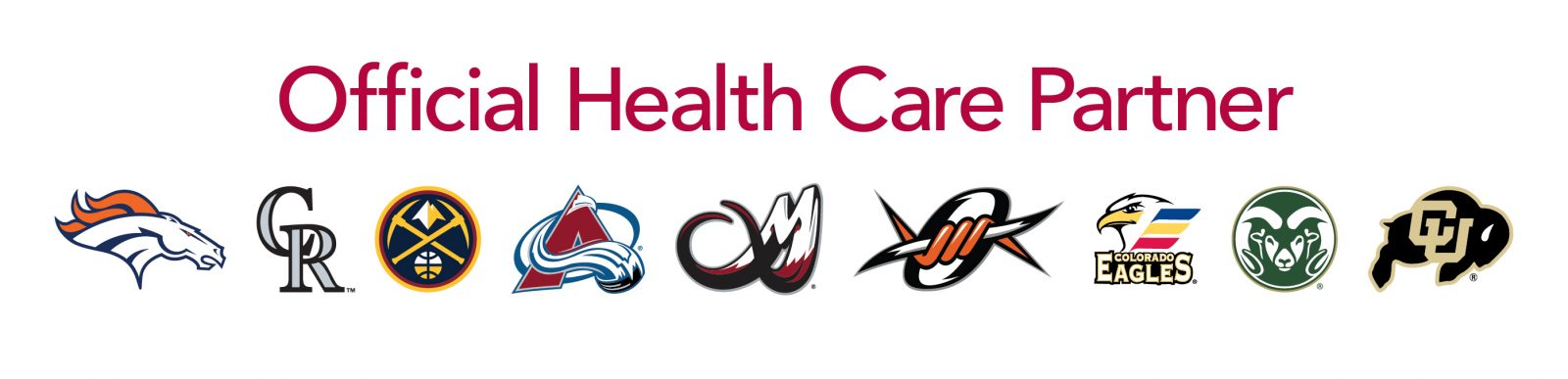 UCHealth Official Health Care Partners