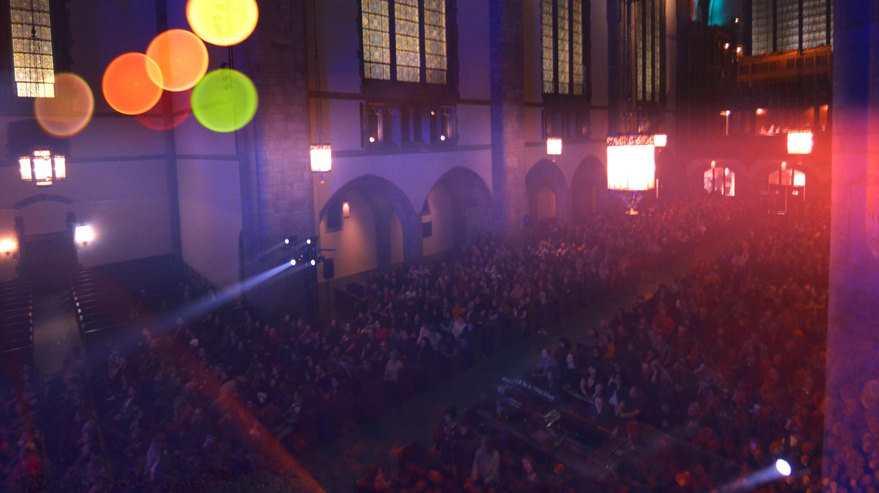Banner chapel lights