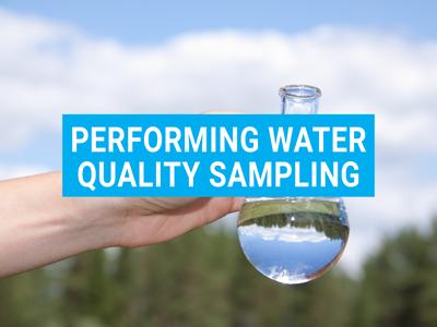 Water Quality Sampling Video image