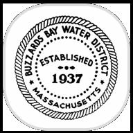 Buzzards Bay Water District, MA logo