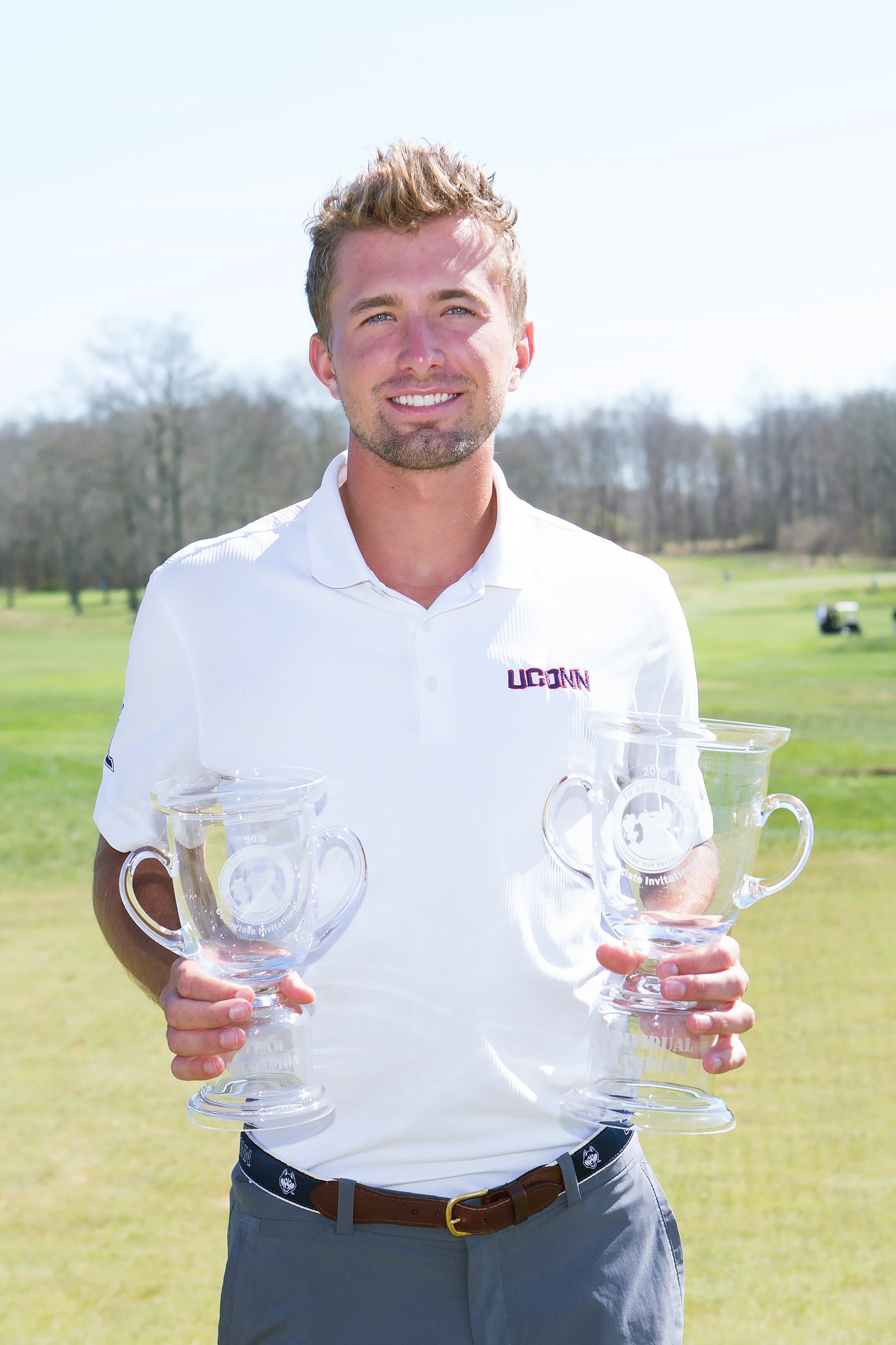 Eric Dietrich won medalist honors at last year's tournament.
