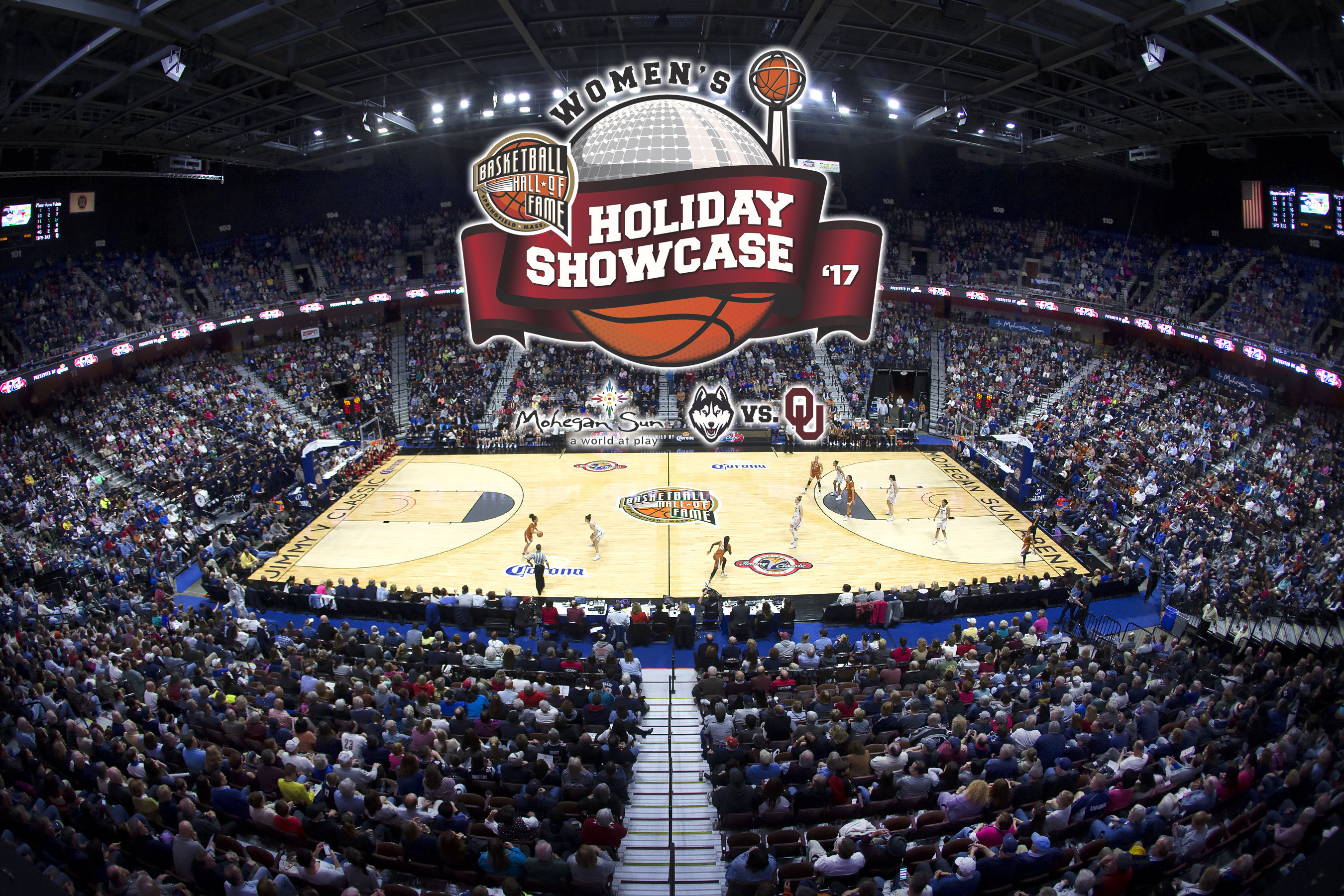 buy online 9262f 0705d Hall of Fame Women s Holiday Showcase to Feature UConn and Oklahoma - UConn  Huskies   University of Connecticut Athletics