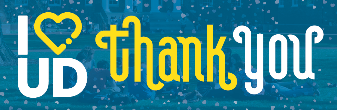 THANK YOU for making I HEART UD Giving Day a resounding success!
