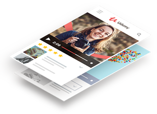 mobile image Udemy   Thousands of affordable courses are published every month