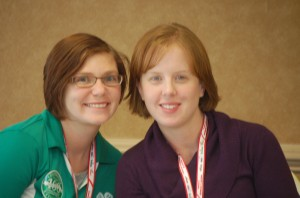 Mallory Vogl, NCC 4-H agent and Jill Jackson,SC 4-H agent served as the event co-chairs