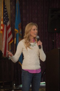 Shannon Oleen, Saturday's keynote speaker