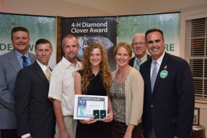 L to R: Mark Isaacs, Rep. Steve Smyk, Rich Ockels, Mikayla Ockels, Cindy Ockels, Rep. Harvey Kenton, Ernie Lopez