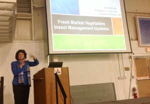 Joanne Whalen, Extension IPM Specialist provided several updates during Ag Week