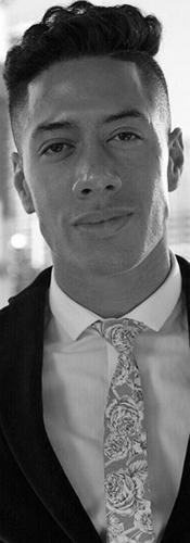 Justin Black & White Image