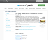 BC Reads: Adult Literacy Fundamental English - Reader 6
