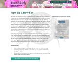 How Big & How Far
