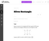 A-CED Silver Rectangle
