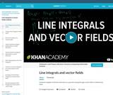 Calculus - Line Integrals and Green's Theorem: Line Integrals In Vector Fields