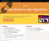 SFUSD's Creative Computing Science K-2 Curriculum Orange - Unit 1: Lesson 5