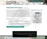 Adaptation Intro-Live!