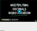 Arithmetic Operations: Multiplying Decimals 3