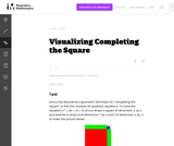 A-REI Visualizing Completion of the square