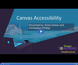 Accessibility Foundations: Creating Accessible Canvas Courses