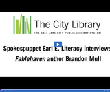 Earl E. Literacy: Author Brandon Mull