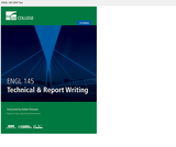 Bay College - ENGL 145 - Technical and Report Writing