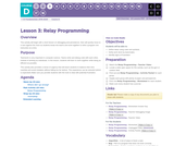CS Fundamentals 4.3: Relay Programming