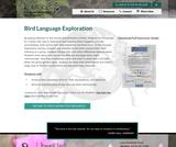 Bird Language Exploration