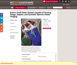 Build a Small Radar System Capable of Sensing Range, Doppler, and Synthetic Aperture Radar Imaging