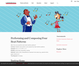 Performing and Composing Four-Beat Patterns