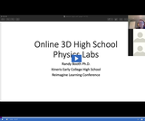 Reimagine Learning: Online 3D High School Physics Labs