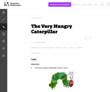 1.OA, NBT The Very Hungry Caterpillar