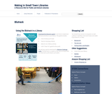 Making in Small Town Libraries: Using the Blutrack in a Library