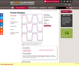 Fourier Analysis - Theory and Applications, Fall 2013