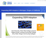 Growing Open Education in Michigan, Oregon, & California