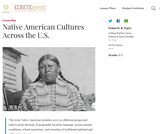 Native American Cultures Across the U.S.