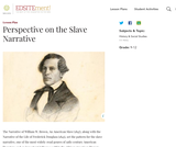 Perspective on the Slave Narrative