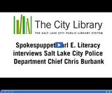 Earl E. Literacy: Police Chief Chris Burbank