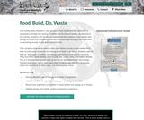 Food, Build, Do, Waste