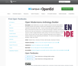 Open Modernisms Anthology Builder