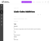 1.OA Link-Cube Addition