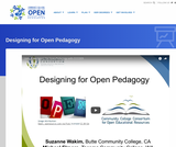 Designing for Open Pedagogy
