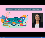 Learn @ Home: Admin Communication Norms